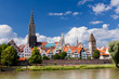 Leinwandbild Motiv Skyline of Ulm