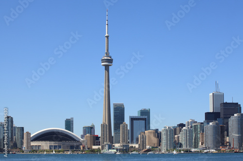 Photo sur Toile Canada Toronto skyline