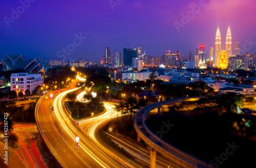 Scenery of Kuala Lumpur Poster