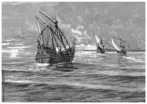christophus-colombus-jego-3-statki-xv-wiek