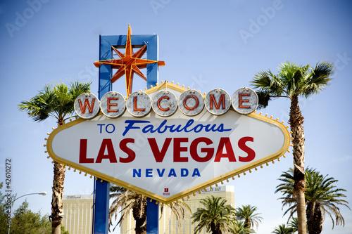Staande foto Las Vegas Las vegas