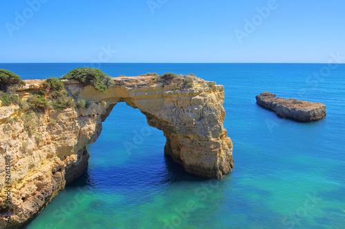 Foto-Leinwand - Algarve Strand - Algarve beach 09 (von LianeM)