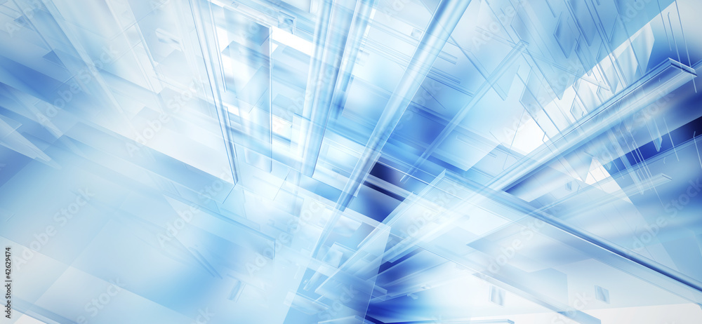 Fototapety, obrazy: abstract blurred glass illustration