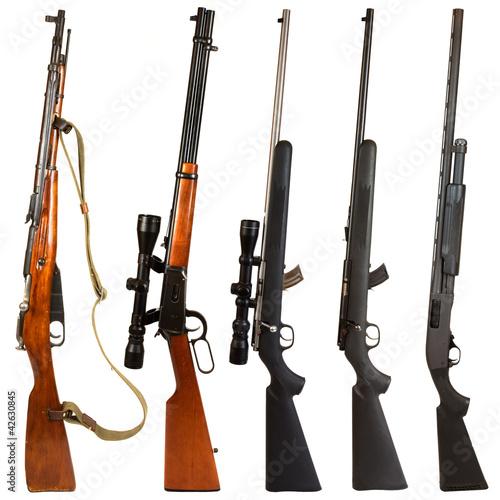 Fotografía  Rifles