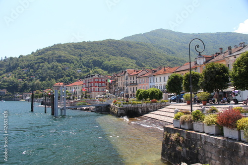 Fototapeta  Lago Maggiore - Uferpromenade
