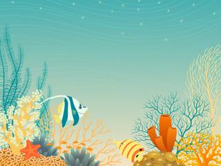 Fototapeta na wymiar Sea life