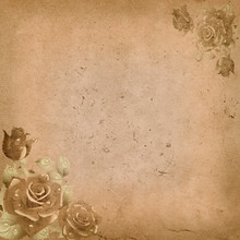 Old Grunge Paper Background Wi...