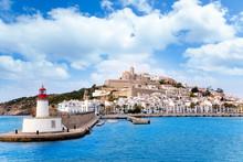 Eivissa Ibiza Town From Red Li...