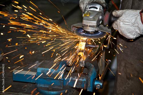 Fotografie, Obraz  Lingue di metallo fuso