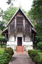 Ho Trai Klang Nam At Wat Thung Si Muang