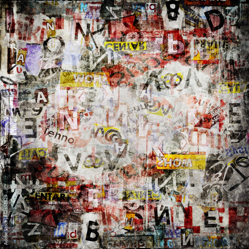 Papiers peints Graffiti Grunge textured background