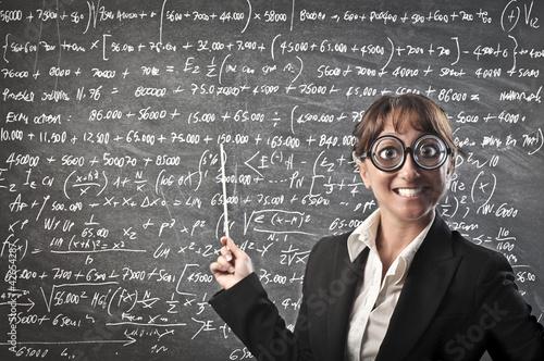 Fotografía  Maths teacher