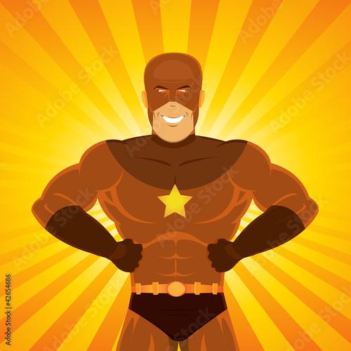 Poster Superheroes Comic Power Superhero