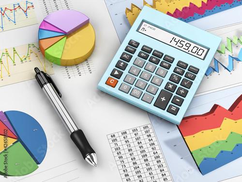 Fotografía  Financial analysis