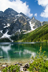 Obraz Polish Tatra mountains Morskie Oko lake
