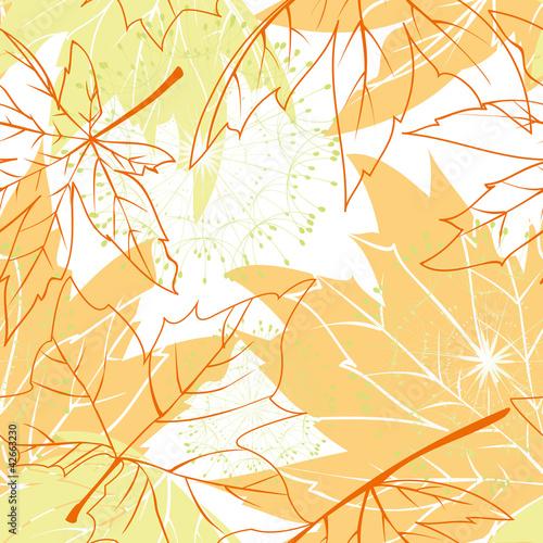 Kolekcje specjalne naklejek kolorowe-jesienne-liscie-wzor