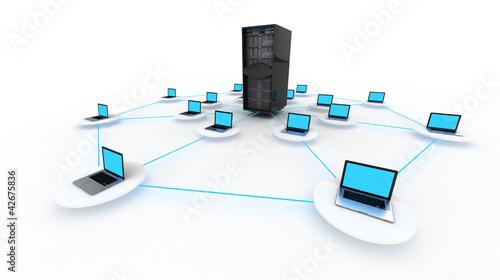 Fotografía  Cloud Server