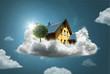 canvas print picture - Dream House