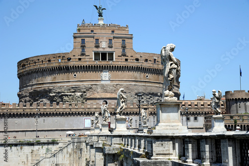 Photo  Rom Engelsburg Castel sant Angelo