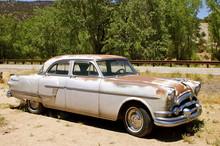 Rusting Vintage American Car