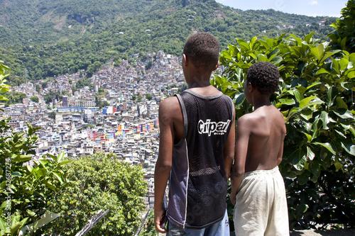 Favela della Rocinha,Rio de Janeiro