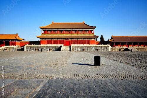 Papiers peints Pékin Forbidden City in Beijing, China