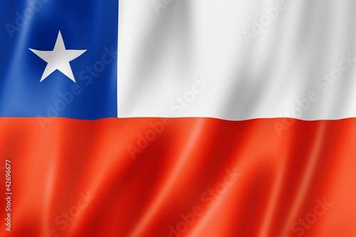 Fotografía Chilean flag