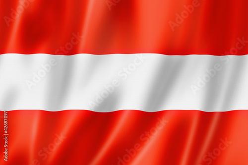 Fotografie, Obraz  Austrian flag