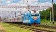 Russian passenger train in Ukraine