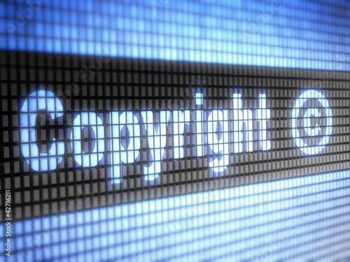 Fotografering  Copyright