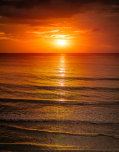 Sunrise In The Sea With Softwa...