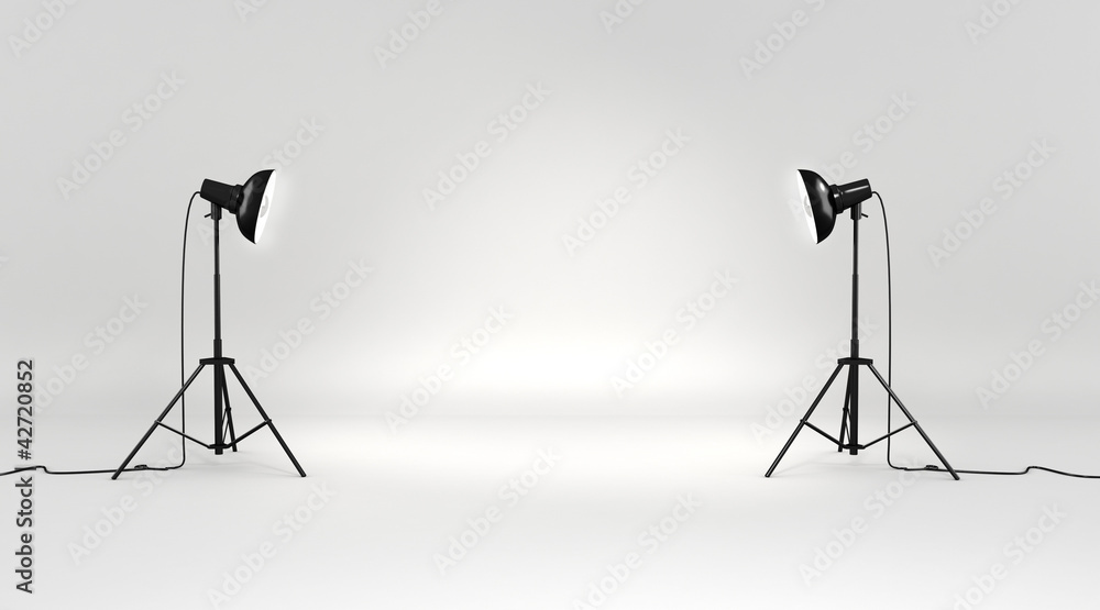 Fototapeta 3d studio set