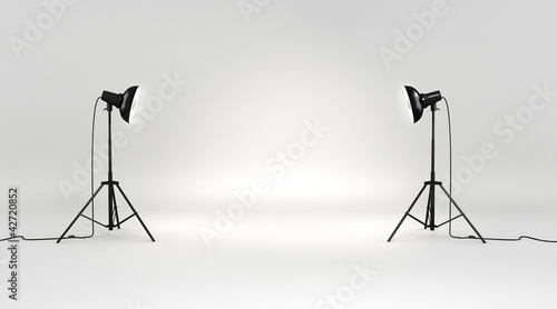 Photo  3d studio set