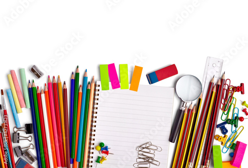 school education supplies items Poster
