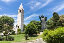 Statue, Gregor Von Nin, Split In Kroatien