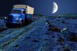 Mondlicht LKW