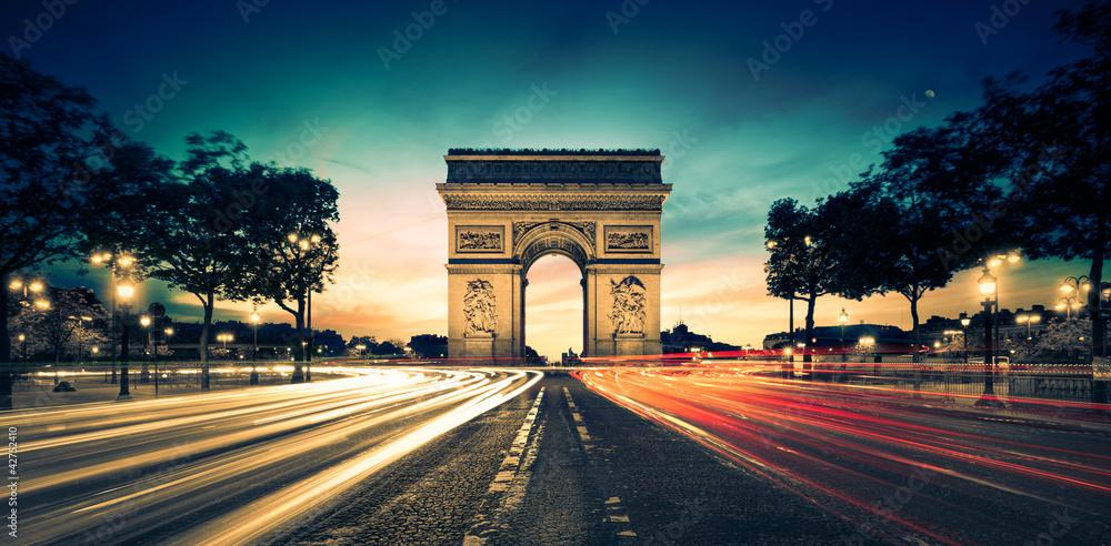 Fototapeta Arc de Triomphe Paris France