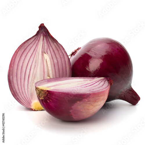 Fotografía  Red sliced onion