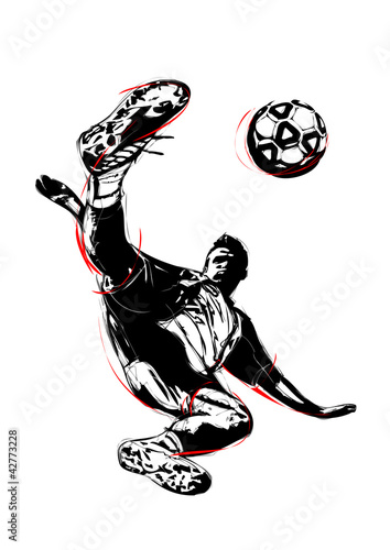 Photo  soccer player