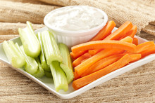 Ranch Dressing With Carrots An...