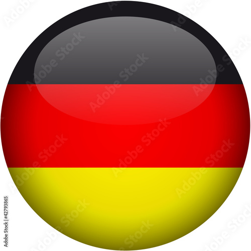 Fotografie, Obraz  deutschland icon