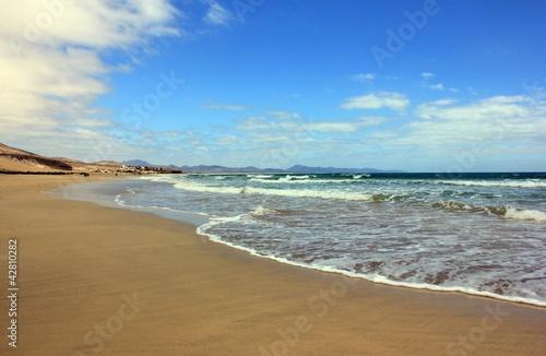 Foto-Leinwand - Strand kanarische Insel (von kochy19258)