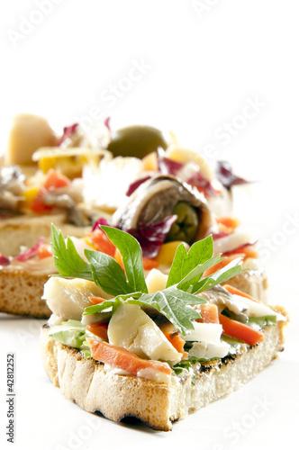 Foto op Aluminium Buffet, Bar finger food