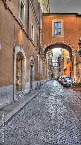 rzym-via-dei-greci-widok