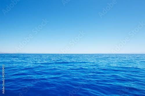 Staande foto Zee / Oceaan Ocean Background