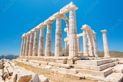 Printed kitchen splashbacks Athens Greece Temple to the Gods