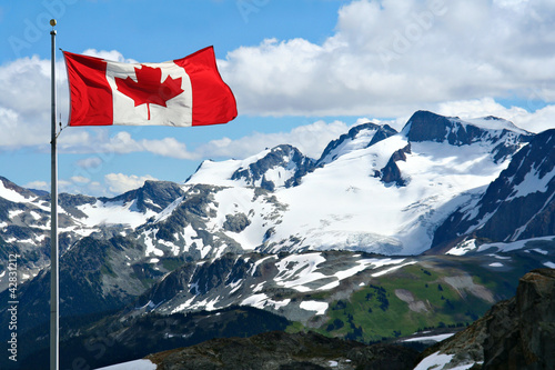 Photo sur Toile Canada Rocky mountains