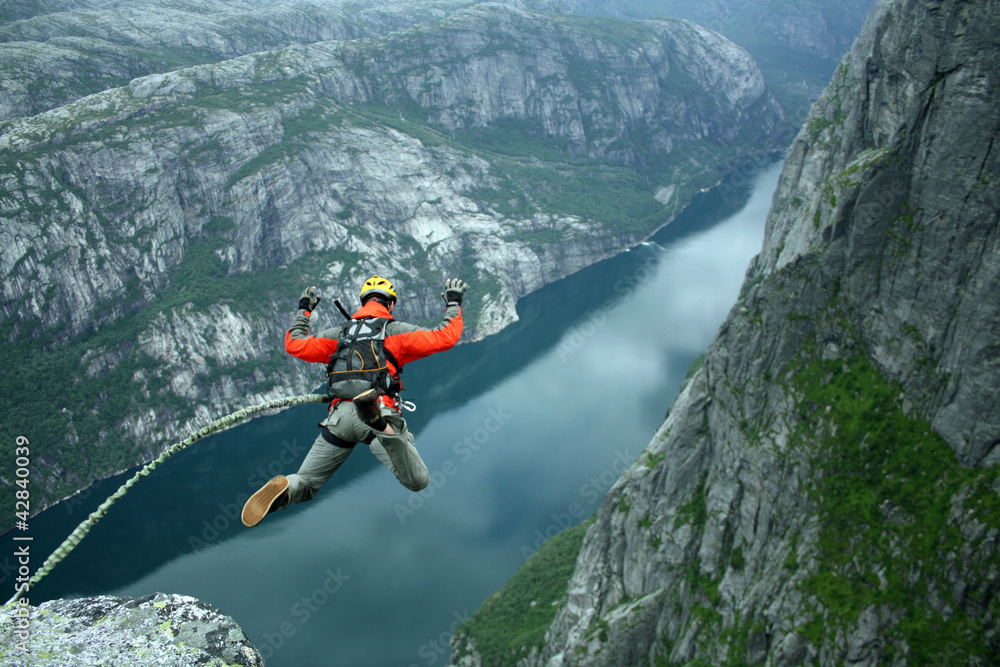 Fototapety, obrazy: Rope Jumping.