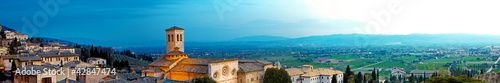 Photo Panoramic View of Assisi Italy