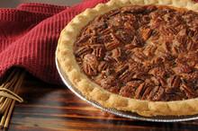 Pecan Pie Close Up